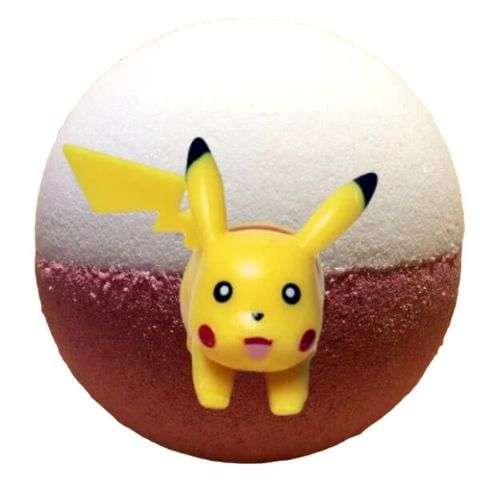Pokee Bath Bomb With Pokemon Toy Figure Inside